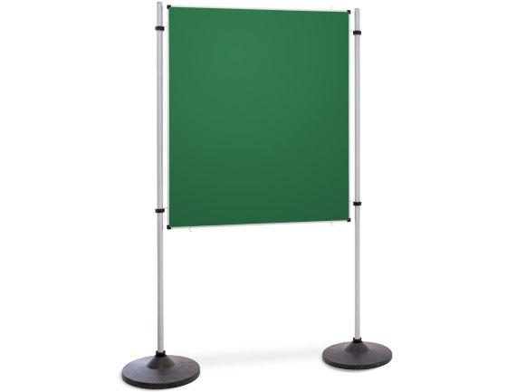 Kombinationswand Präsentations- und Kommunikationswand grüne Tafel