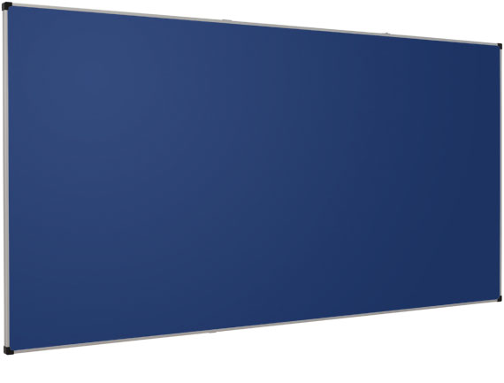 Whitebords Klassisches Whiteboard Blau