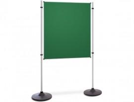 Präsentations- und Kommunikationswand grüne Tafel